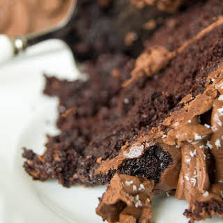 Two-Layer Chocolate Cake with Whipped Cocoa Buttercream.