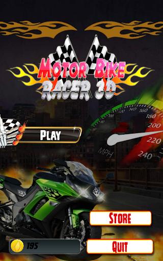 Motobikeレーサー3Dゲーム2016
