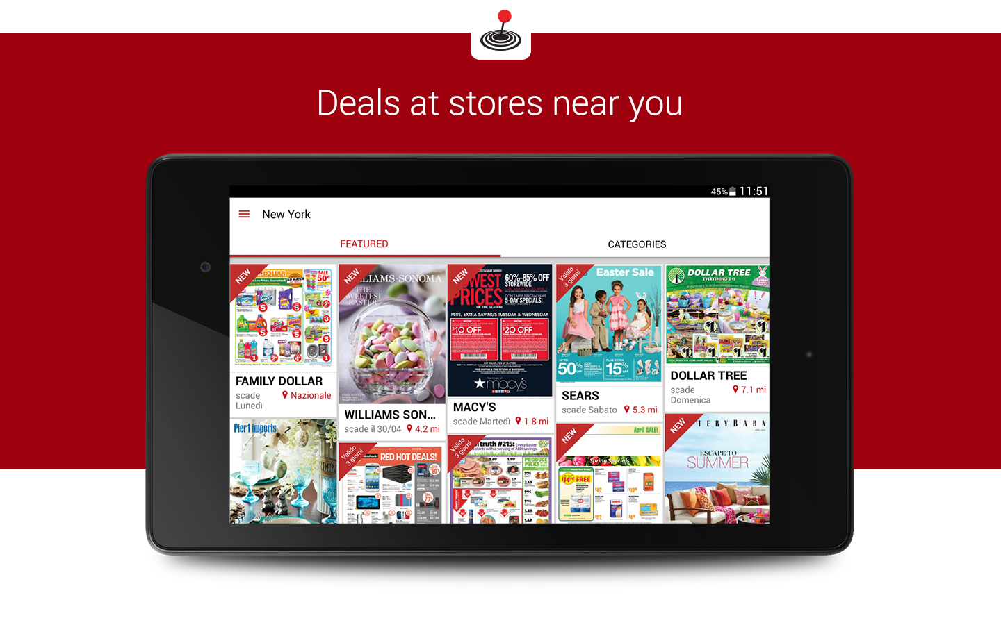 Screenshots of Shopfully - Weekly Ads & Deals for iPhone