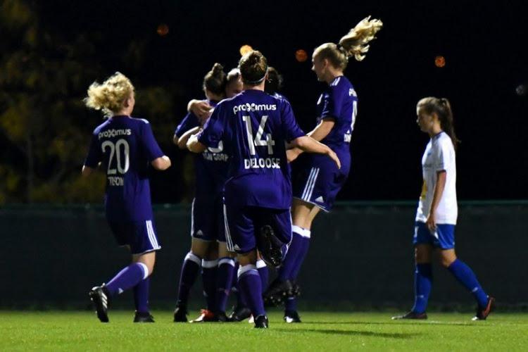 Anderlecht haalt sloophamer boven in Heist en is alleen leider in Super League