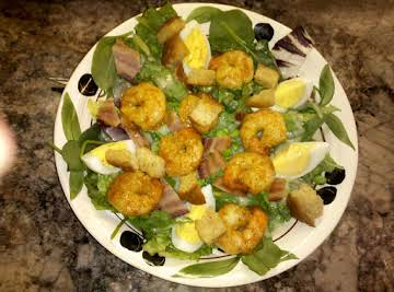 Super Shrimp & Spinach Salad