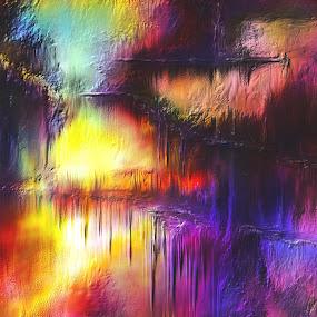Fernet Ufern Glen Sande © 2016 Original Digital Abstract Painting created in Corel Painter 2016 by Glen Sande - Painting All Painting (  )