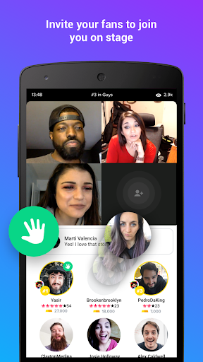 YouNow: Live Stream Video Chat - Go Live! - screenshot