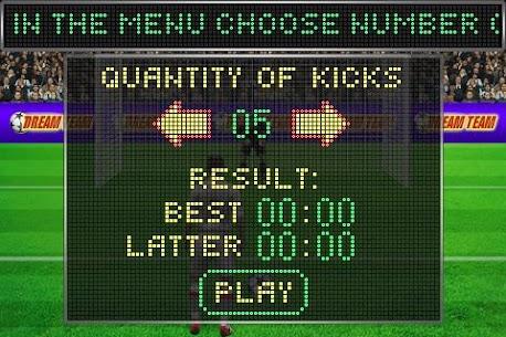 Football penalty. Shots on goal. 2