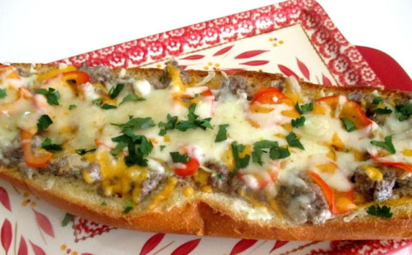 ~ Cassies Cheesy Stroganoff Bread ~ Recipe