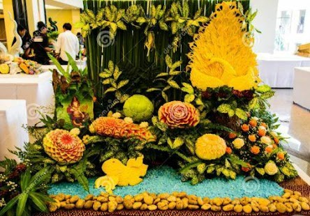 Fruit and Vegetable Decorations - náhled