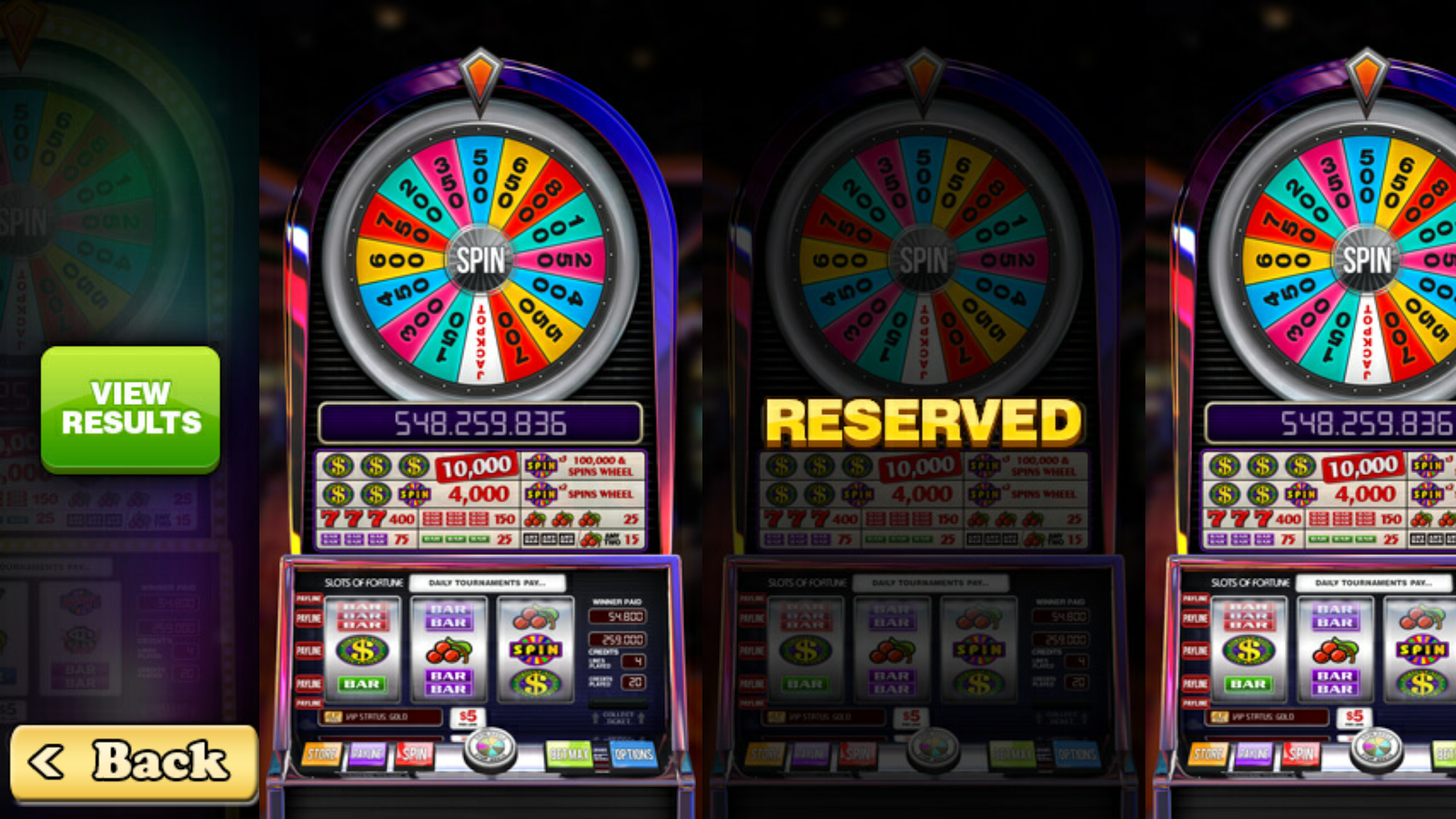 Slots of Fortune Deluxe- screenshot