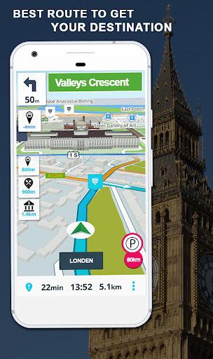 GPS Navigation: GPS Route, Live Maps & Street View 1.1.1 screenshots 4