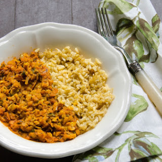 Coconut Spiced Red Lentils