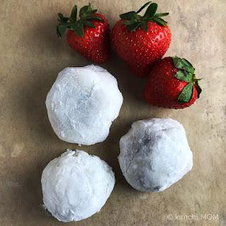 Strawberry Mochi #SundaySupper.