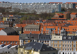 Photo: Aarhus set fra ARoS' tag