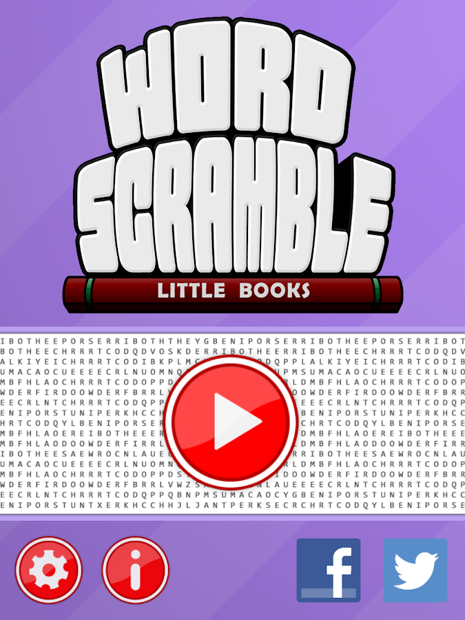 Word Scramble Little Books- screenshot