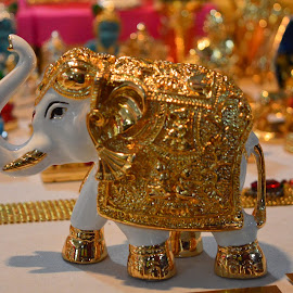 Elephant  by Rushi Chitre - Artistic Objects Antiques ( indian elephant )