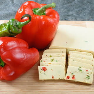 Vegan Pepperjack Cheese.