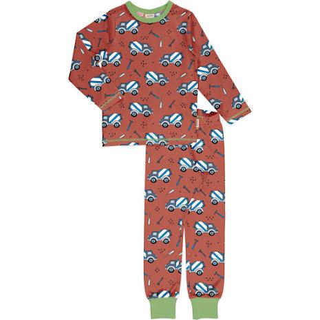 Maxomorra Pyjamas Set LS Cement Truck