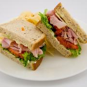 Ham & Swiss Sandwich