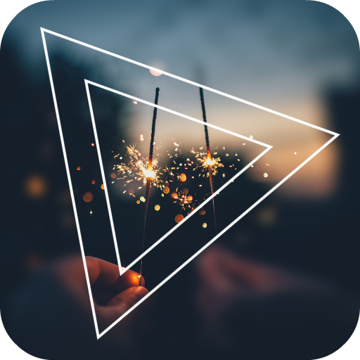Picture Shape - Geometry Photo Editor Icon