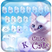 Cute Cats Keyboard Theme