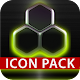 GLOW LIME icon pack HD 3D icon