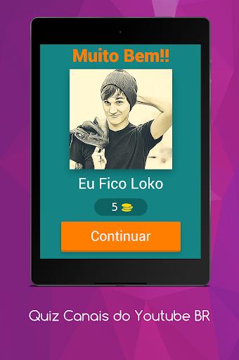 Quiz Canais Youtubers Brasil 8.5.1z screenshots 8