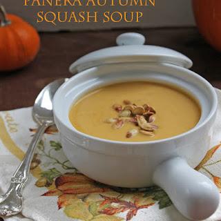 Panera Autumn Squash Soup