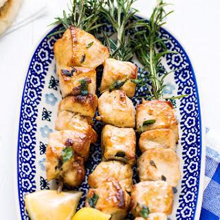 Mediterranean Chicken Skewers.