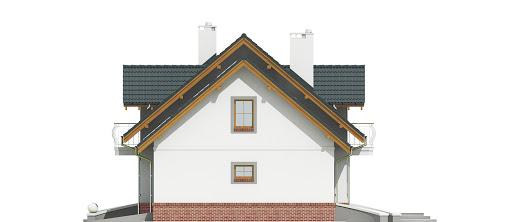 Dom Dla Ciebie 1 w4 z garażem 2-st. A1 - Elewacja prawa