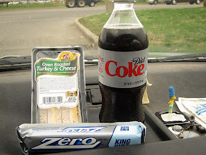 Photo: Road Trip, gas stop and this is lunch.