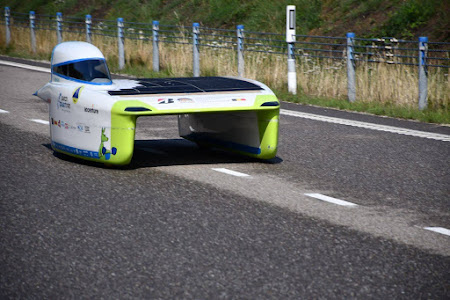 Punch Powertrain Solar Team foto