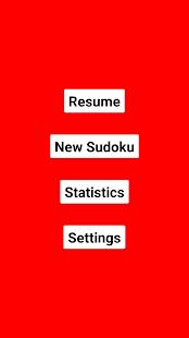 Sudoku RED - náhled
