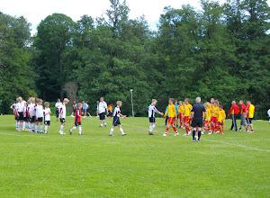 Photo: Men det blev förlust med 5-1 och de var utslagna ur Örebro Cup!