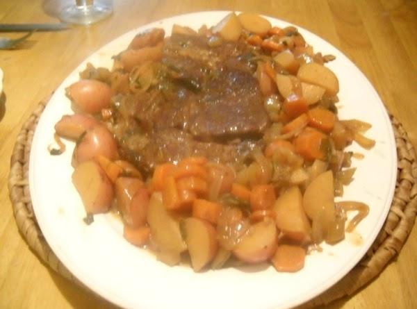 Onion Braised Beef Roast Recipe