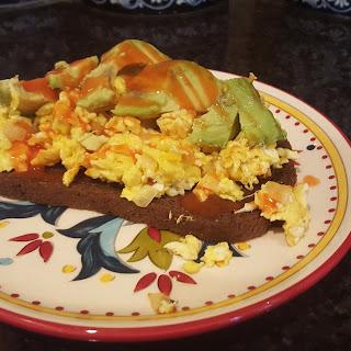 Avocado and Egg Breaky!.