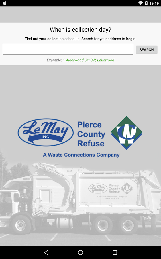 Pierce County Refuse- screenshot