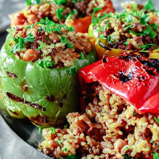 Mediterranean Style Stuffed Peppers