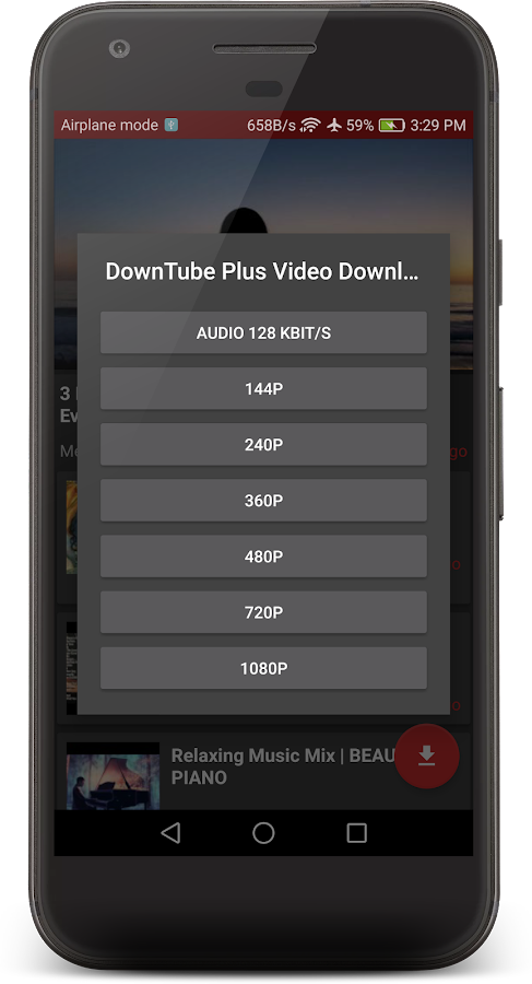 DownTube Pro HD Video Downloader- screenshot