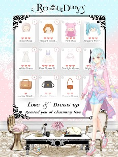 Romantic Diary: Anime Dress Up- screenshot thumbnail