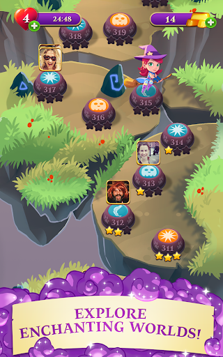 Bubble Witch 3 Saga screenshot 9
