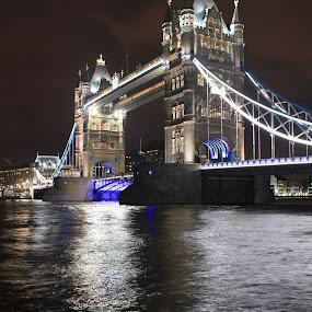 tower bridge, london by Davor Kapetan - City,  Street & Park  Street Scenes ( bridge )