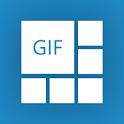 Super GIF Collage: GIF camera icon