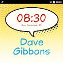Dave Gibbons FlipFont icon