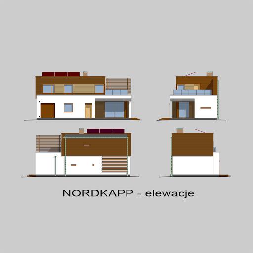 Nordkapp - Elewacje