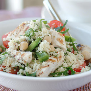 Chicken with Tomato and Chickpea Couscous