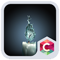 Creative Water Candle Theme HD icon