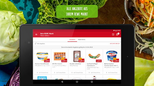 REWE - Online Shop & Märkte screenshot 14