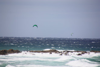Photo: Year 2 Day 168 -  Kite Surfing Just Outside Narooma