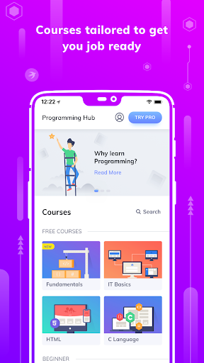 Programming Hub: Learn to Code 5.0.14 screenshots 1