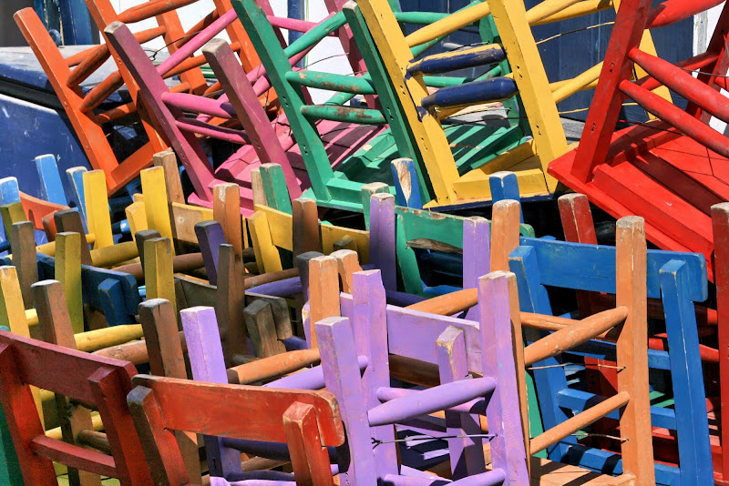 United Colors Of Chairs di Paolo Caruso