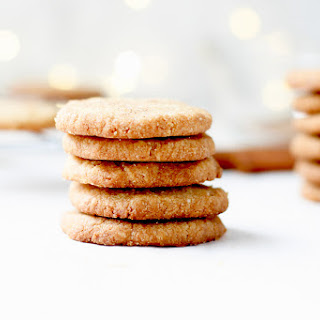 Brown Sugar Shortbread Cookies.
