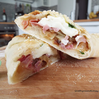 Ham and Cheese Baked Sandwich